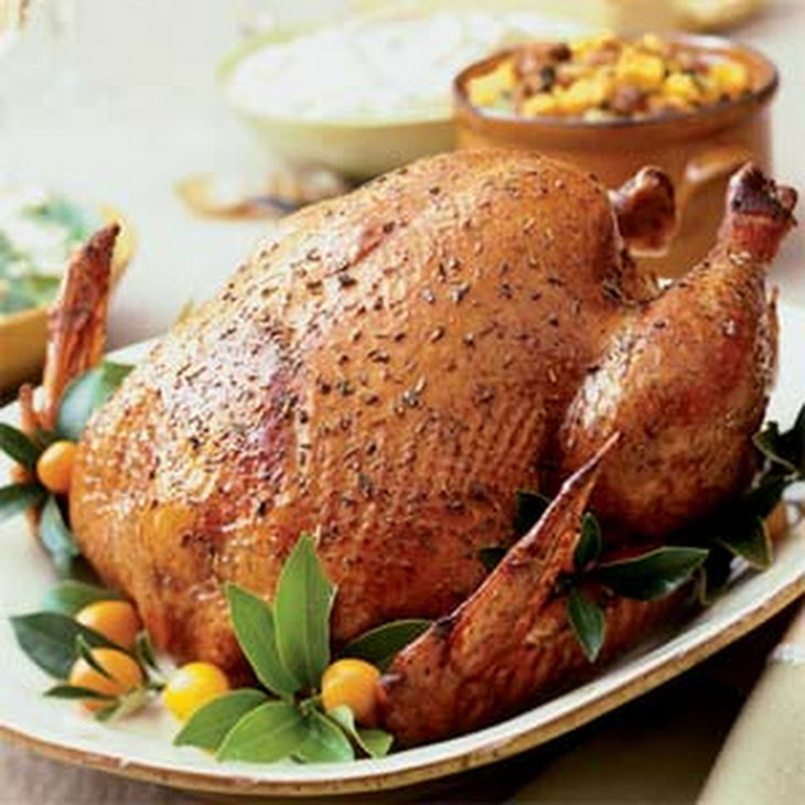 Spice-Rubbed Roast Turkey Recipe
