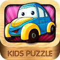 Kids Puzzle:Vehicles logo