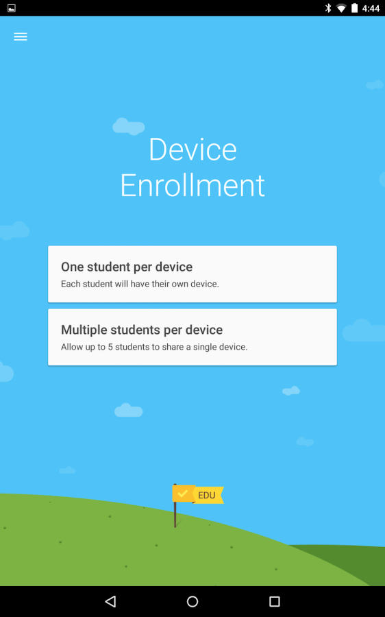 Android Device Enrollment - screenshot