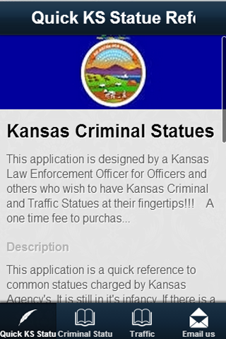 Quick KS Statute Reference