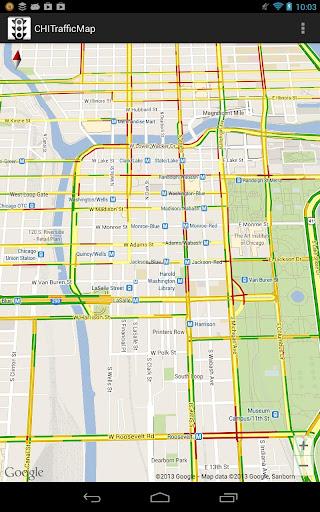 CHI Traffic Map