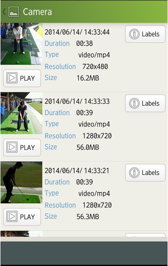 Golf Swing Viewer- screenshot