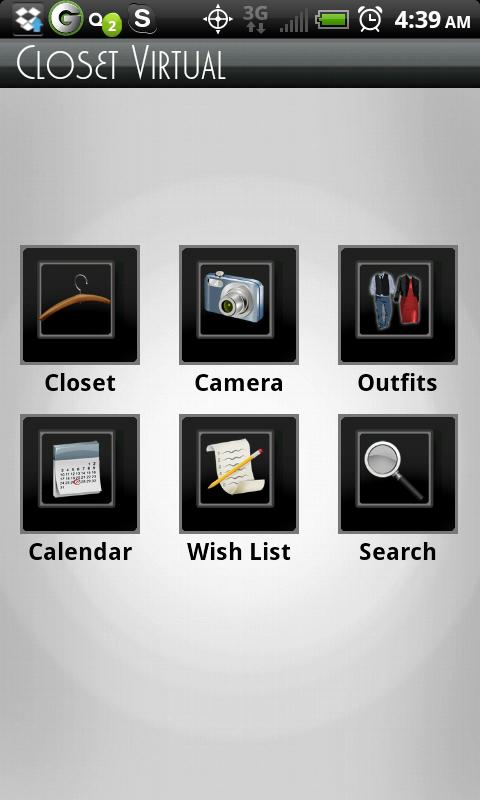 ClosetVirtual - screenshot