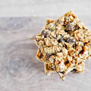 5 Ingredient Peanut Butter Granola Bars.