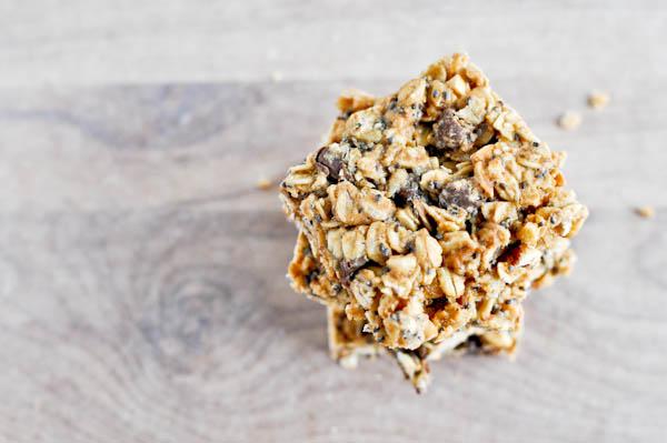 5 Ingredient Peanut Butter Granola Bars Recipe