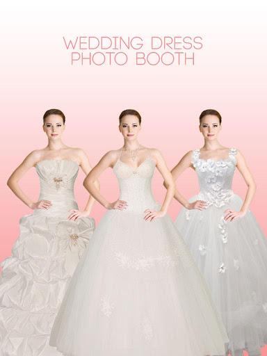 ウェディングドレス写真ブース
