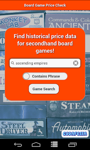 Board Game Price Check - Free
