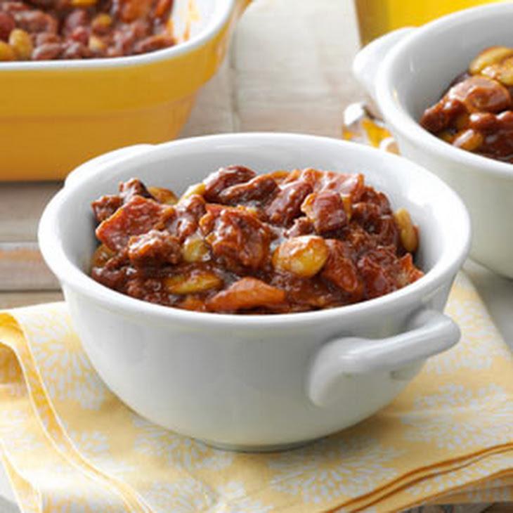 Fourth of July Bean Casserole Recipe