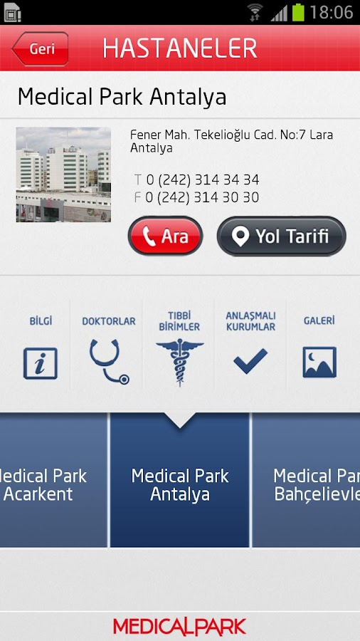 Medical Park- screenshot