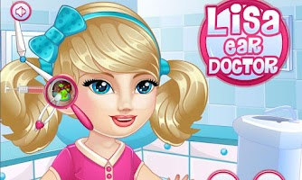 Screenshot of Baby Lisa Ear Doctor