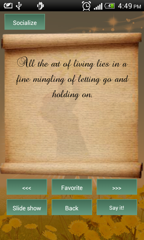 Best Life Quotes App - screenshot