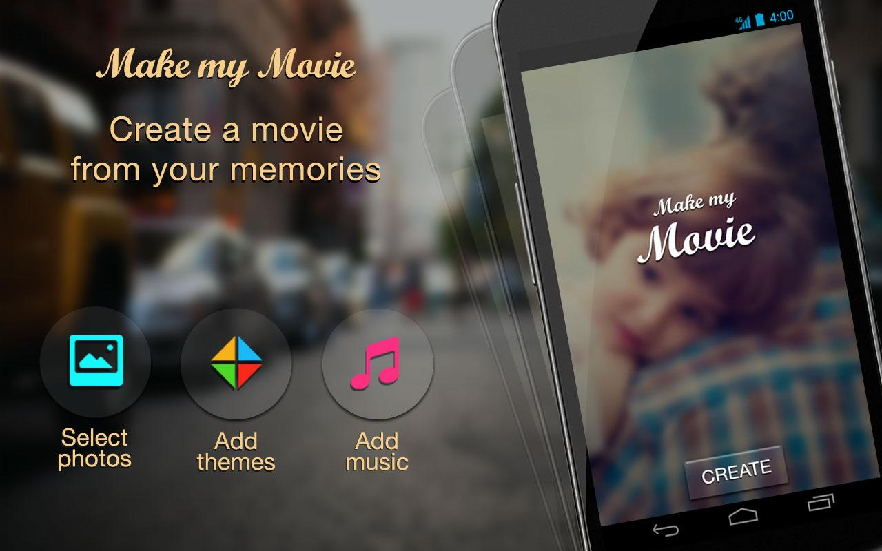 Make movie slideshow