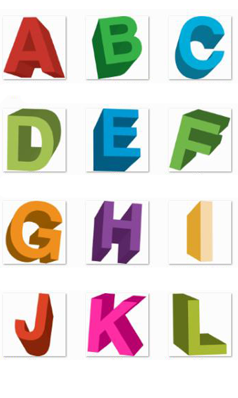 Alphabet A-Z Memory Game Kids - screenshot