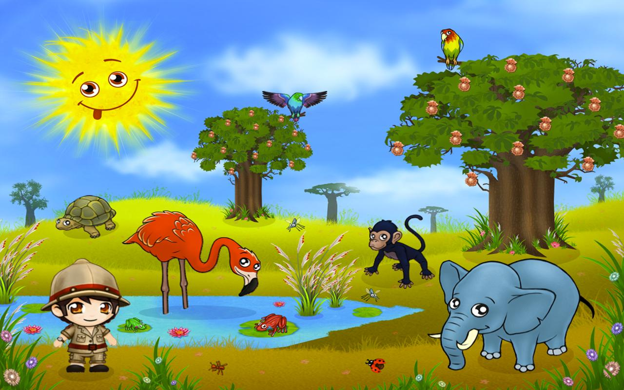 africa animal puzzel for kids screenshot - Images For Kids