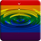 Gay Pride water effect LWP