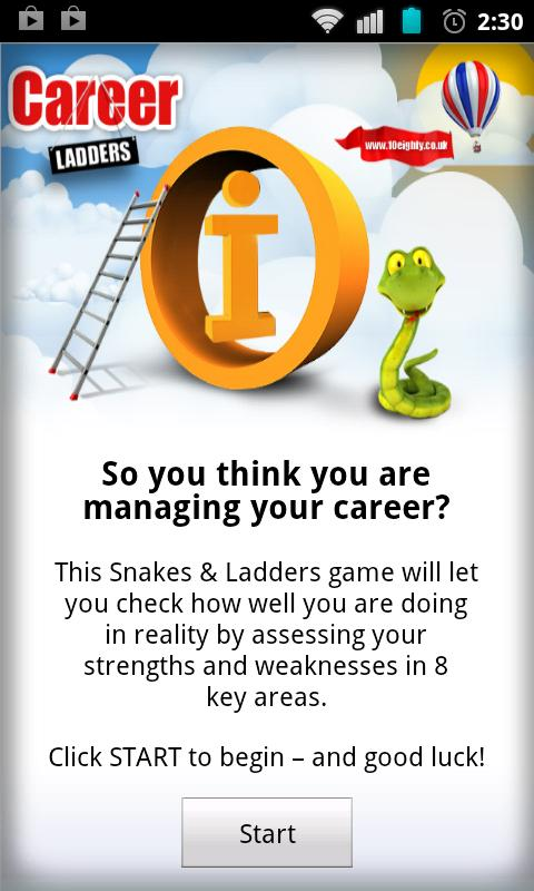 10Eighty Careers Ladder- screenshot