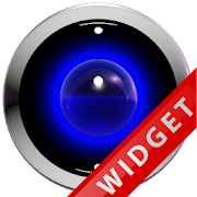 Blue Robot Poweramp Widget