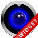 Poweramp Widget Blue Robot