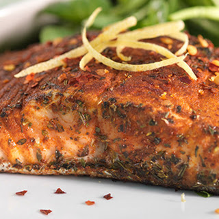 Pan Fried Salmon With Herbs Recipes.