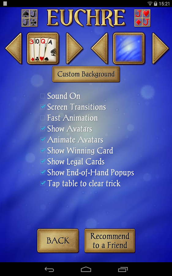 Euchre Free- screenshot