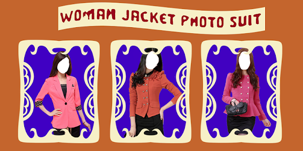 Woman Jacket Photo Suit screenshot 0