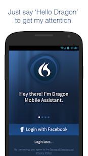 Dragon Mobile Assistant - screenshot thumbnail