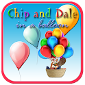 Chip and Dale in a balloon icon