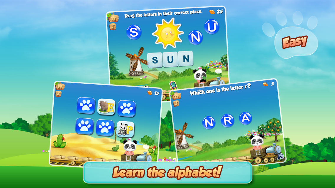Lola's Alphabet Train ABC Game- screenshot