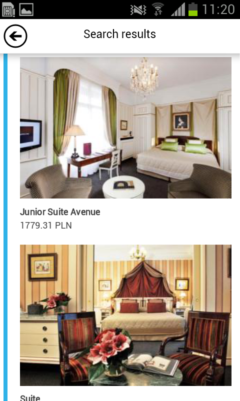 Luxury & Boutique Hotels - screenshot