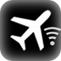 Airplane on and Wi-Fi Vibrate icon