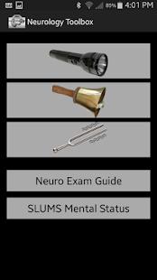 Neurology Exam Tools screenshot for Android