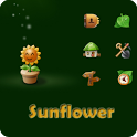 Sun Flower Go launcherex theme icon