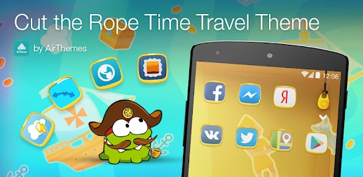 Cut the Rope Time Travel Theme APK