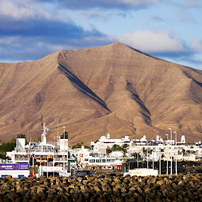 Longview by John Stewart  - Landscapes Mountains & Hills ( moutain, hill, volcano, lanzarote, playa blanca,  )