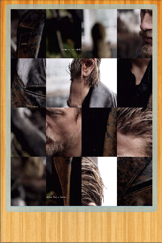Charlie Hunnam Puzzle Games - screenshot