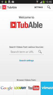 Tubable Video Player - screenshot