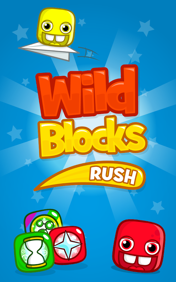 Wild Blocks Rush - screenshot