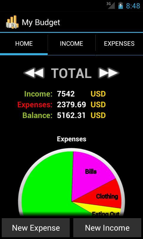 My Budget Free- screenshot