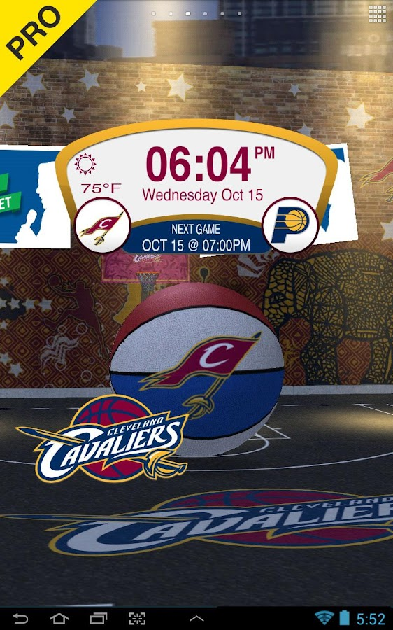NBA 2015 Live Wallpaper - screenshot
