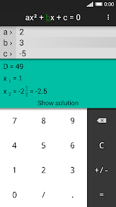 Quadratic Equation Solver PRO v1.2