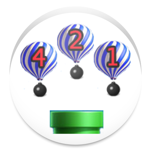 shoot balloon bomb LOGO-APP點子