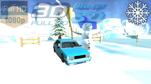 Antartika Car 3D