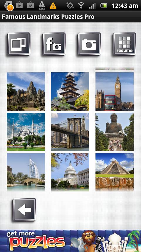 Famous Landmarks Puzzles FREE - screenshot
