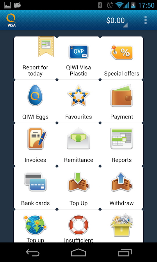 Visa QIWI Wallet - screenshot