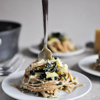 Spinach and Artichoke Linguine.
