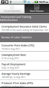 Labor Stats- screenshot thumbnail