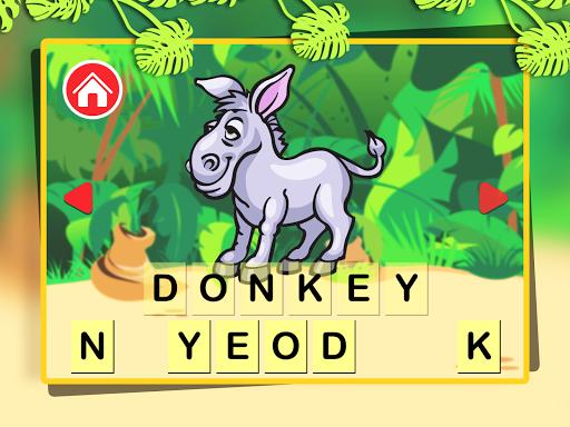學前兒童動物園第一個字|玩教育App免費|玩APPs