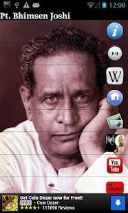 Pt. Bhimsen Joshi- screenshot thumbnail