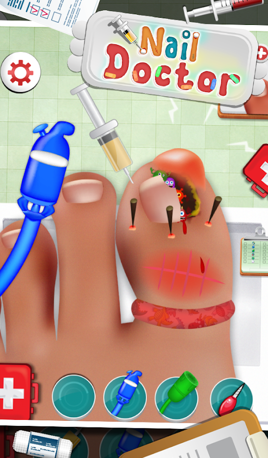 Nail Doctor - Kids Games - screenshot