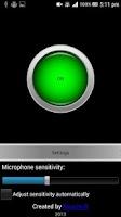 Screenshot of Music lights (uses microphone)
